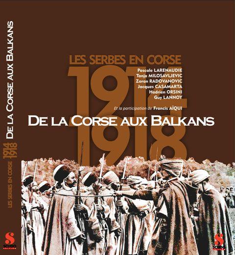 Foto korica knjige Les Serbes en Corse 14-18