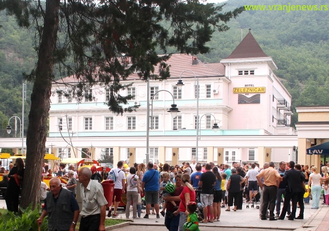 Hotel Železničar u Vranjskoj Banji. Foto VranjeNews