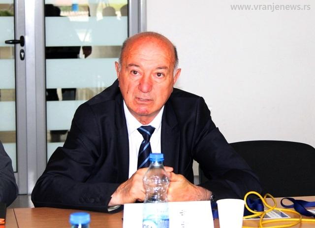 Fatmir Hasani. Foto VranjeNews