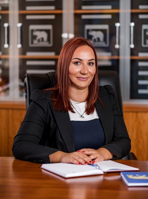 Nagrada stigla za izuzetan doprinos uspehu njene firme: Milica Dimitrijević. Foto lična arhiva