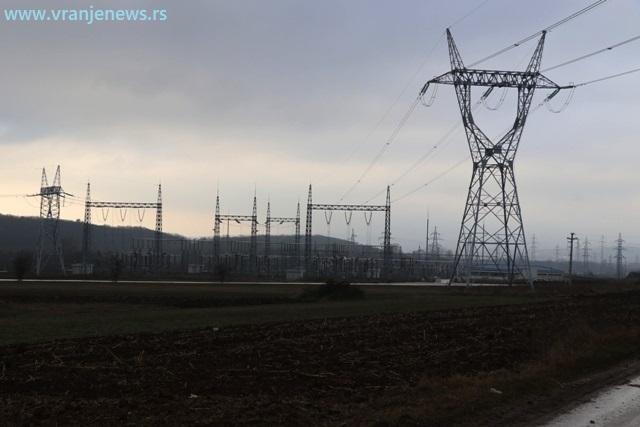 Trafo stanica Vranje 4 u Donjem Trebešinju. Foto VranjeNews