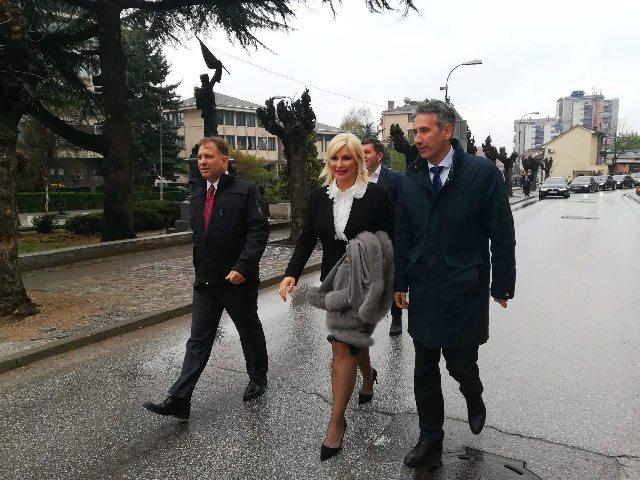 Mihajlovićeva prilikom jedne od ranijih poseta Vranju. Foto Vranje News