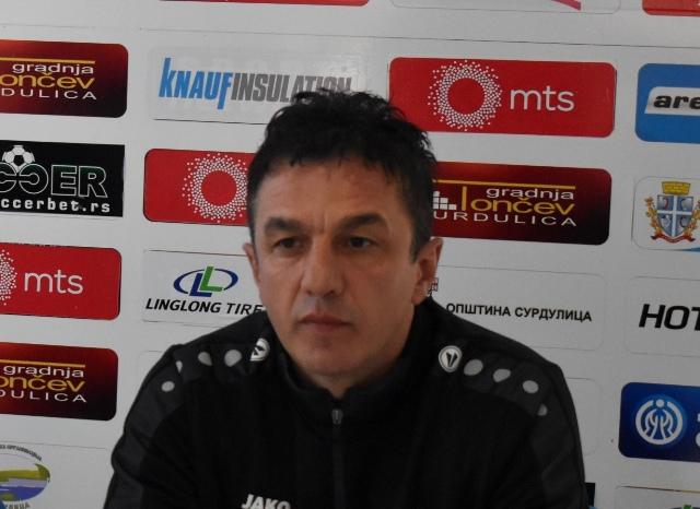 Simo Krunić pred gostovanje u Kruševcu. Foto D. MIrčev