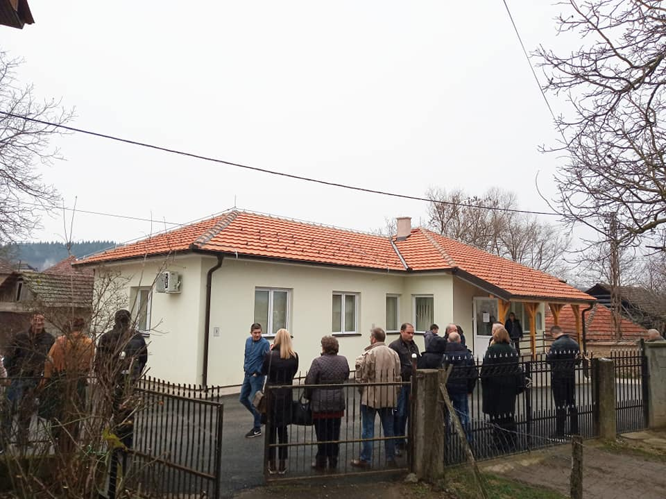 Detalj sa otvaranja obnovljenog objekta. Foto D. Milošević