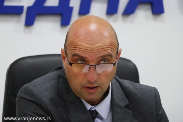 Dejan Tričković. Foto Vranje News