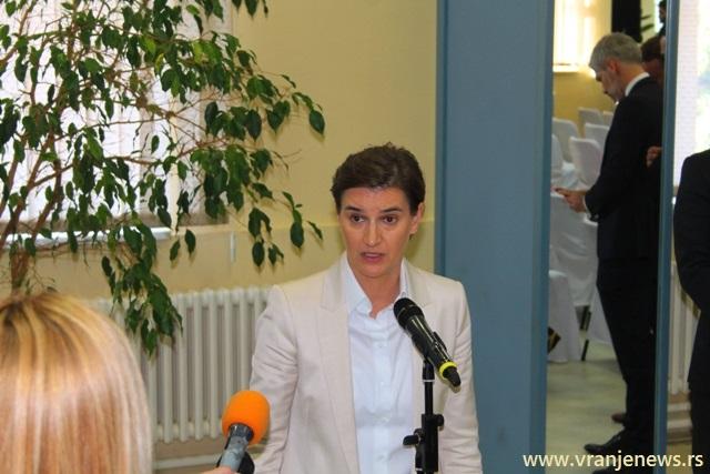 Situacija sa koronavirusom se komplikuje: Ana Brnabić. Foto Vranje News