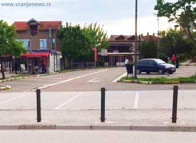 Policija obavlja uviđaj na licu mesta. Foto Vranje News