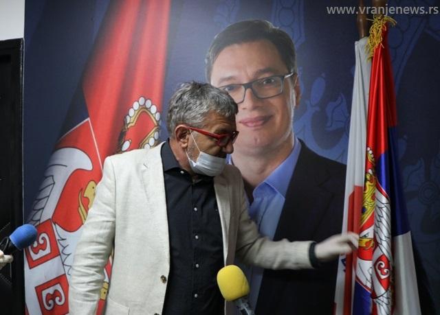 Srpska zastava je svetrinja: Goran Đorđević. Foto Vranje News