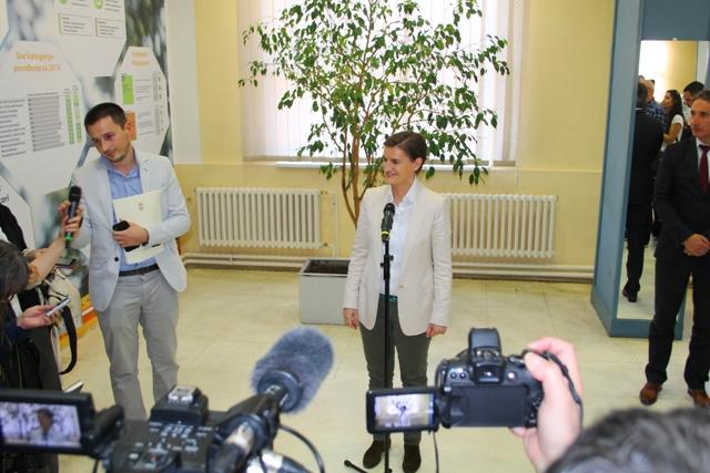 Ana Brnabić. Foto Vranje News