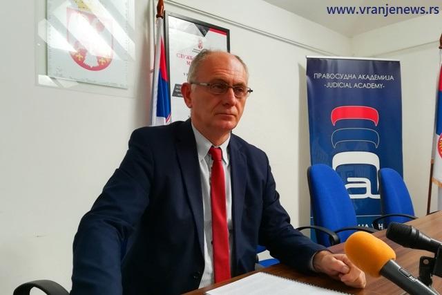 Više vranjskih sudija se prijavilo da ga nasledi: Stojadin Stanković. Foto Vranje News