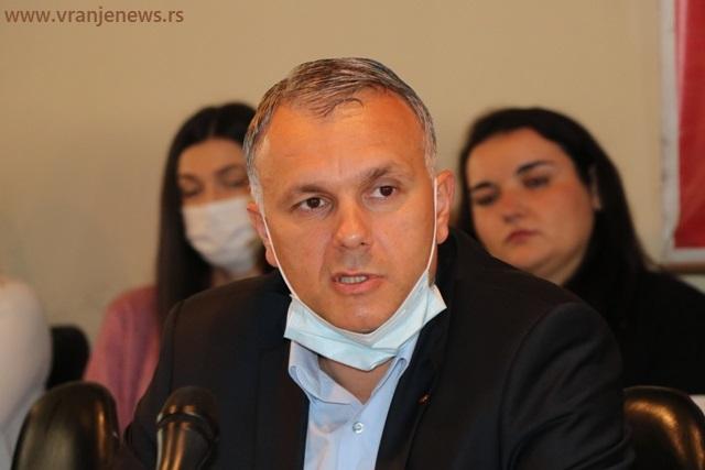 Srđan Dekić, potpredsednik GrO SPS i prvi na odborničkoj listi. Foto Vranje News