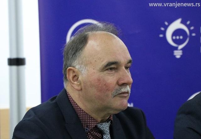 Zarije Mitić na čelu liste Srpske desnice u Bujanovcu. Foto Vranje News
