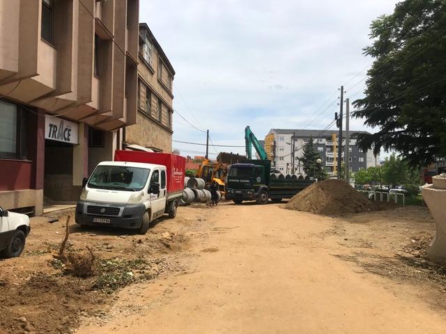 Rekonstrukcija Ulice Bore Stankovića. Foto Vranje News