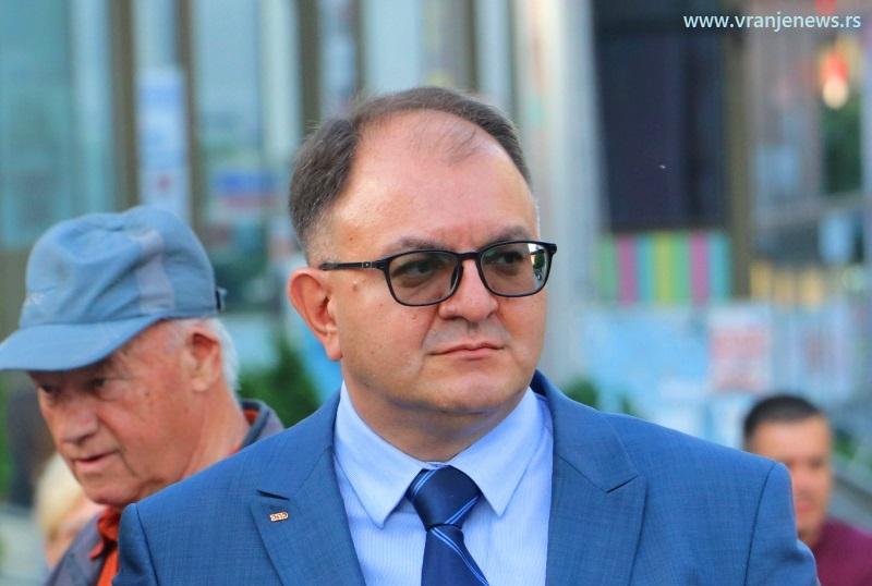 Najjači aduti lokalne liste SPS-a su stručnost, međusobno drugarstvo i poverenje: Zoran Antić. Foto Vranje News