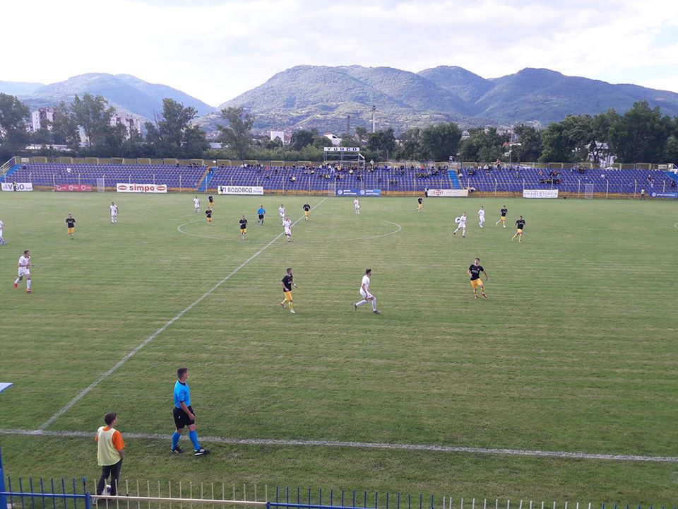 Detalj sa današnje utakmice. Foto FK Dinamo