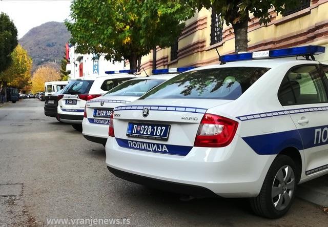 Policija uhapšenom odredila zadržavanje do 48 sati. Foto Vranje News