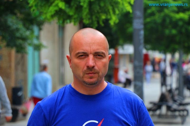 Saša Arsić. Foto Vranje News
