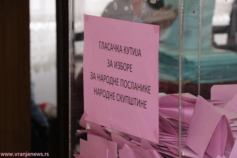 Glasa se samo za parlamentarne liste. Foto Vranje News