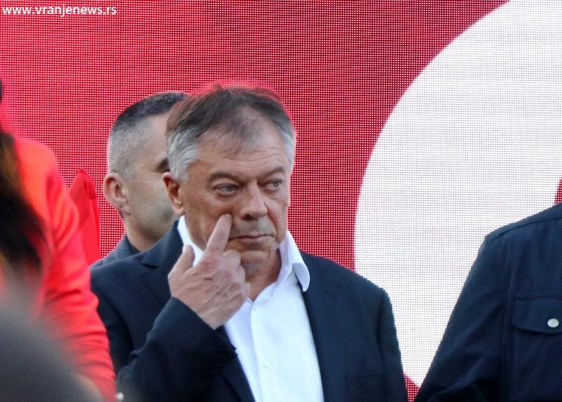 Svaka čast Vučiću, ali su lokalni napredjaci, predvođeni Draganom Stevanovićem, pretili građanima Surdulice: Novica Tončev. Foto Vranje News