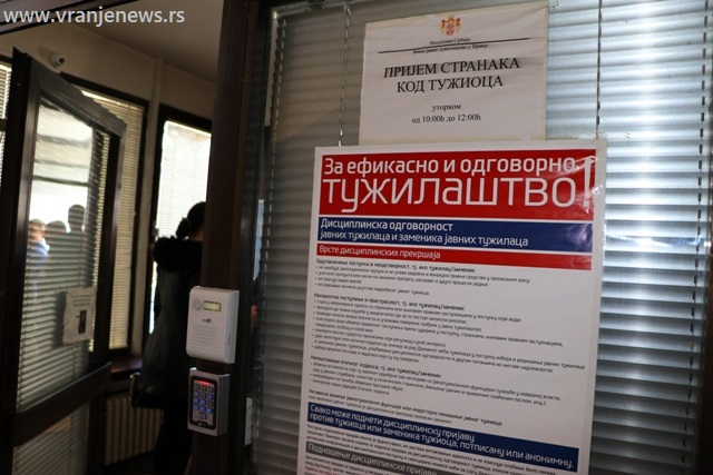 Više javno tužilaštvo u Vranju. Foto Vranje News