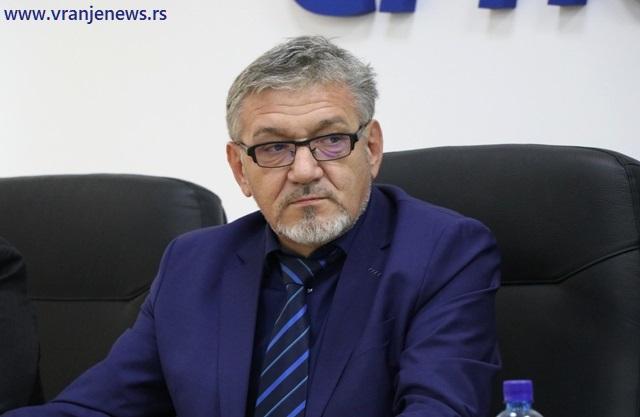 Goran Đorđević, direktor JP Vodovod. Foto Vranje News