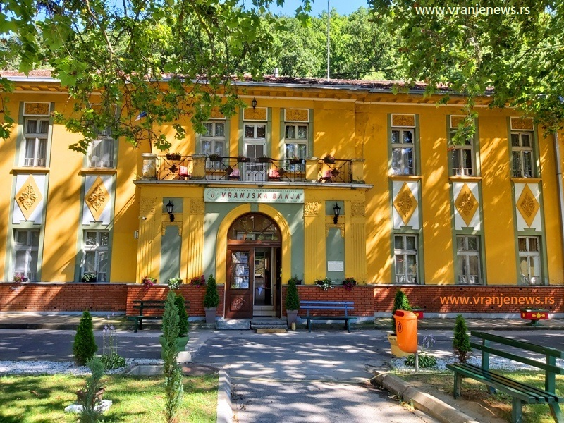 Specijalna bolnica u Vranjskoj Banji. Foto Vranje News