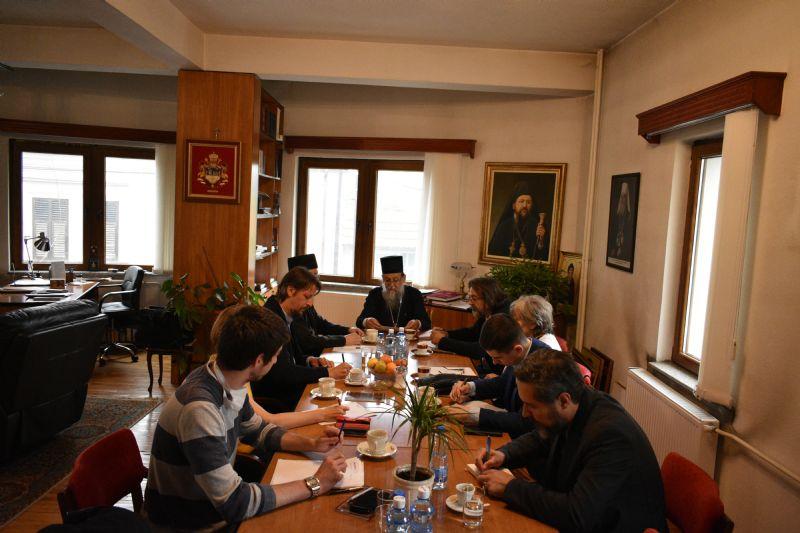 Sa jednog od sastanaka Organizacionog odbora. Foto Eparhija vranjska