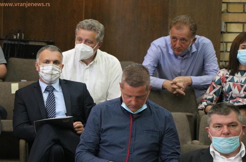 Detalj sa konstitutivne sednice gradskog parlamenta održane 17. avgusta. Foto Vranje News
