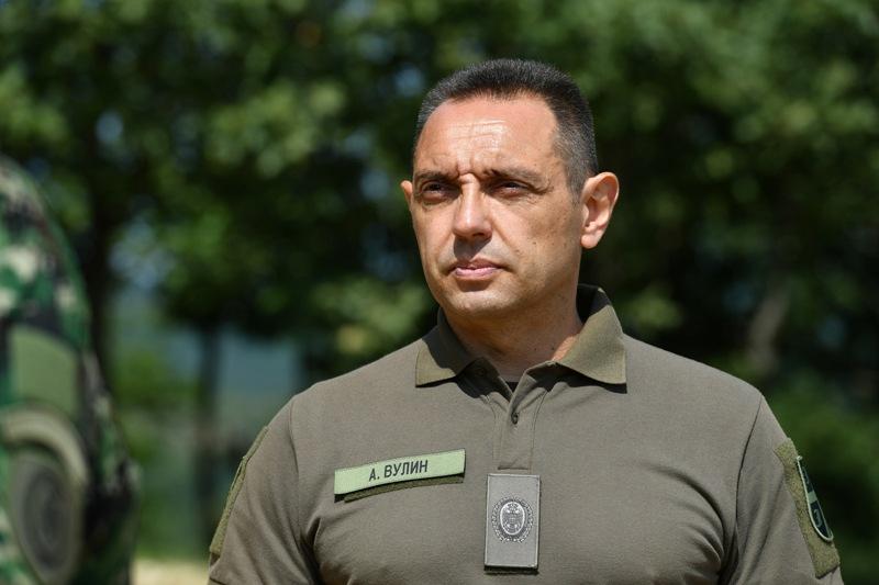 Mustafa tvrdi da ministar odbrane nije imao hrabrosti da se pojavi na sudu: Aleksandar Vulin. Foto MOD