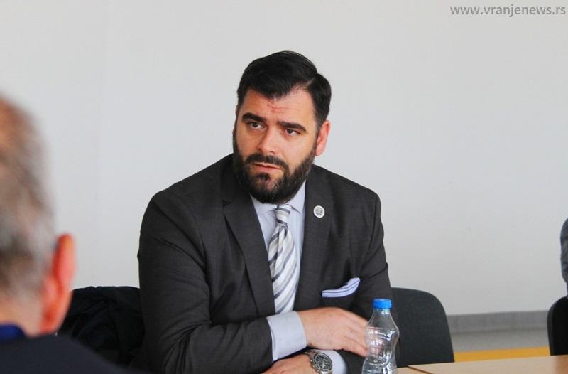 Ragmi Mustafa. Foto Vranje News