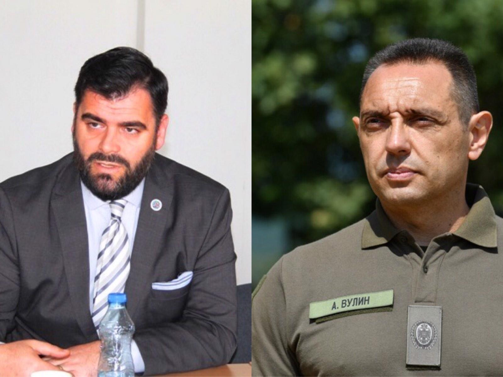 Mustafa poručio da se Vulin boji istine. Foto Vranje News