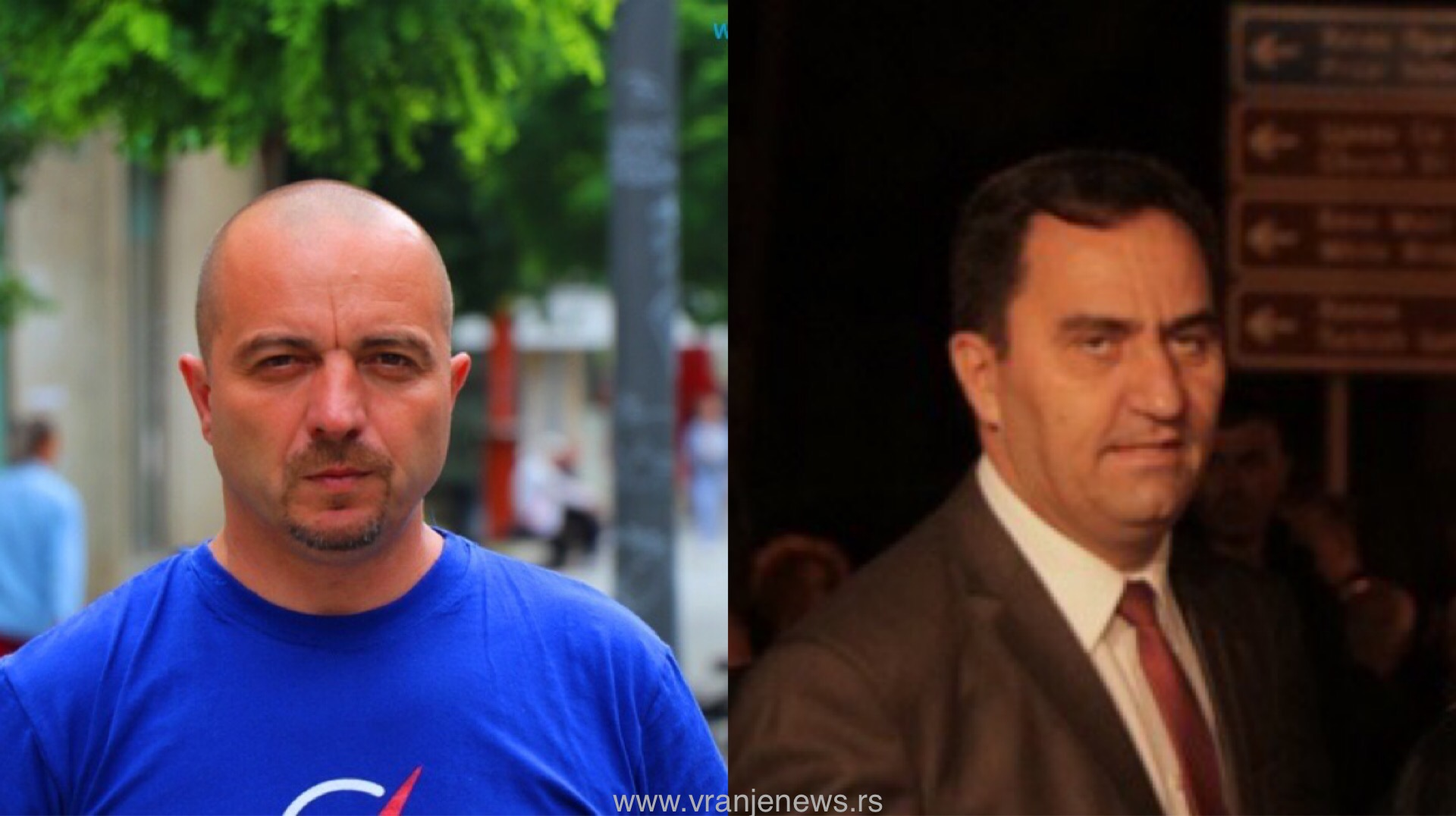 Mitrović (desno) oglasio se nakon Arsićevih pitanja. Foto Vranje News