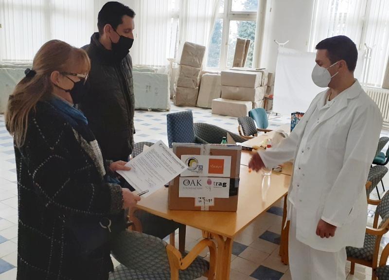 Donacija humanih građanki i građana. Foto Odbor za ljudska prava Vranje