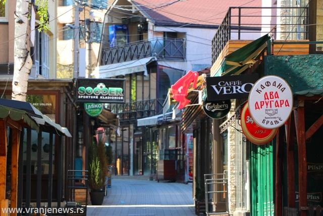 Kafana se nalazi u Brankovoj ulici. Foto Vranje News