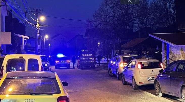 Policijska blokada i potraga za osumnjičenim. Foto Vranje News
