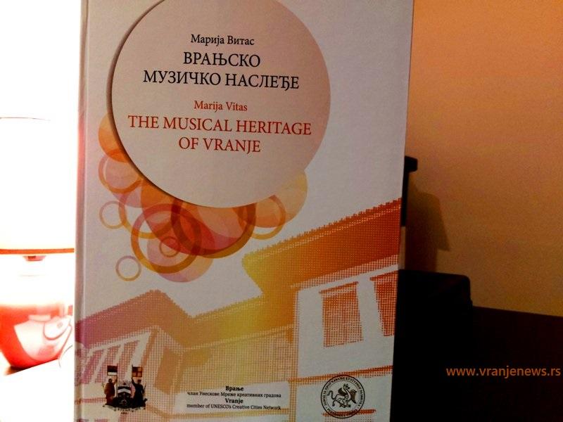 Monografija Vranjsko muzičko nasleđe. Foto Vranje News