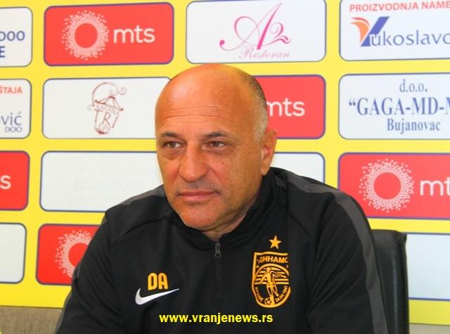 Najavio podnošenje žalbe UEFA-i: Dragan Antić Recko. Foto Vranje News