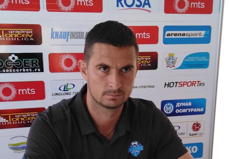 Slavoljub Đorđević, šef stručnog štaba Surduličana. Foto FK Radnik