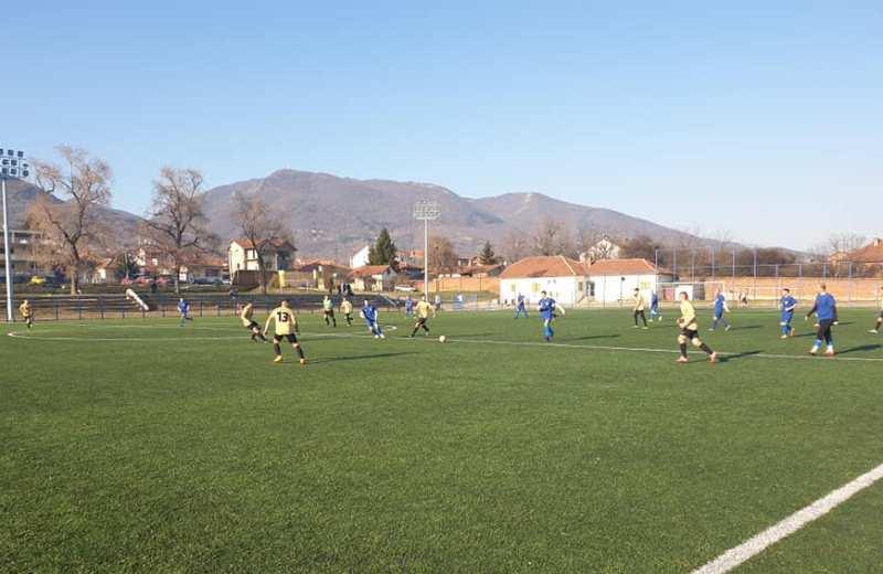 Detalj sa nedavnog prijateljskog meča Trnovca i Mineralca. Foto FK Trnovac