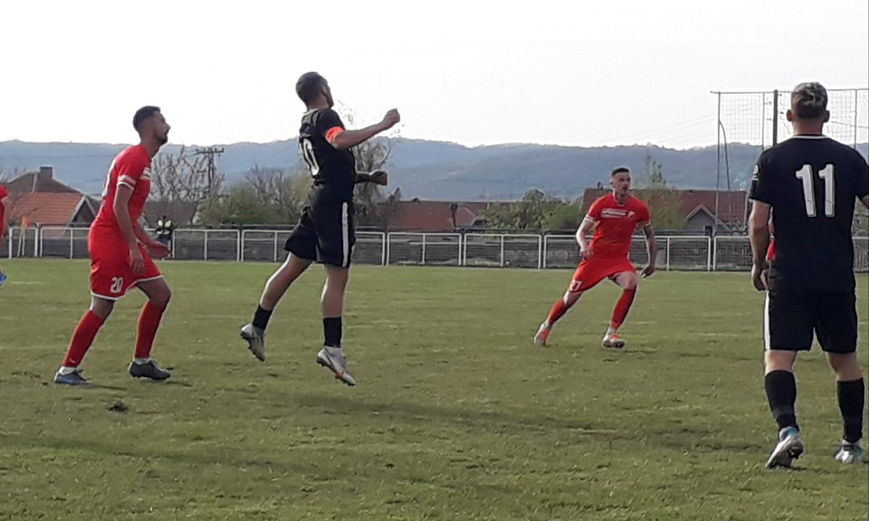 Detalj sa današnje utakmice u Leskovcu. Foto FK Dinamo