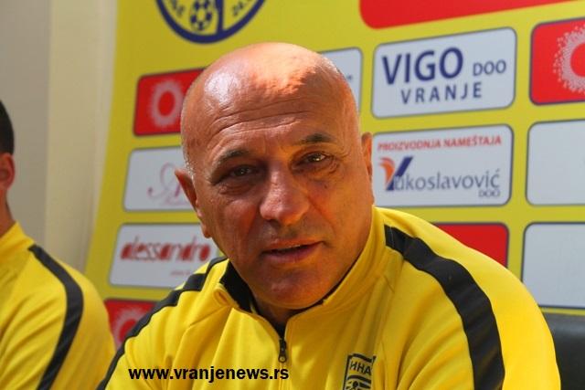 Kako sada stoje stvari neće moći da vodi Dinamo godinu i po dana: Dragan Antić Recko. Foto Vranje News