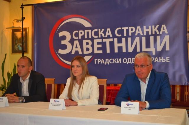 Sa konferencije za medije u Vranju. Foto G. Mitić