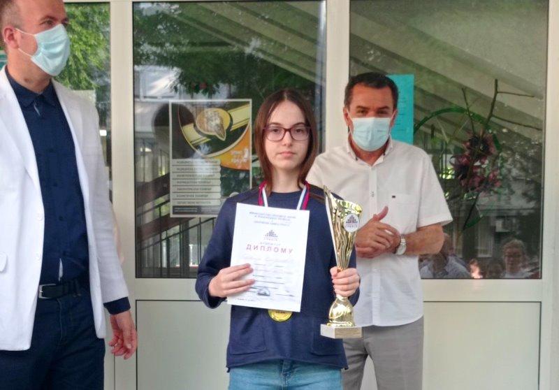 Najbolja u Srbiji: Sofija Stojanović. Foto lična arhiva