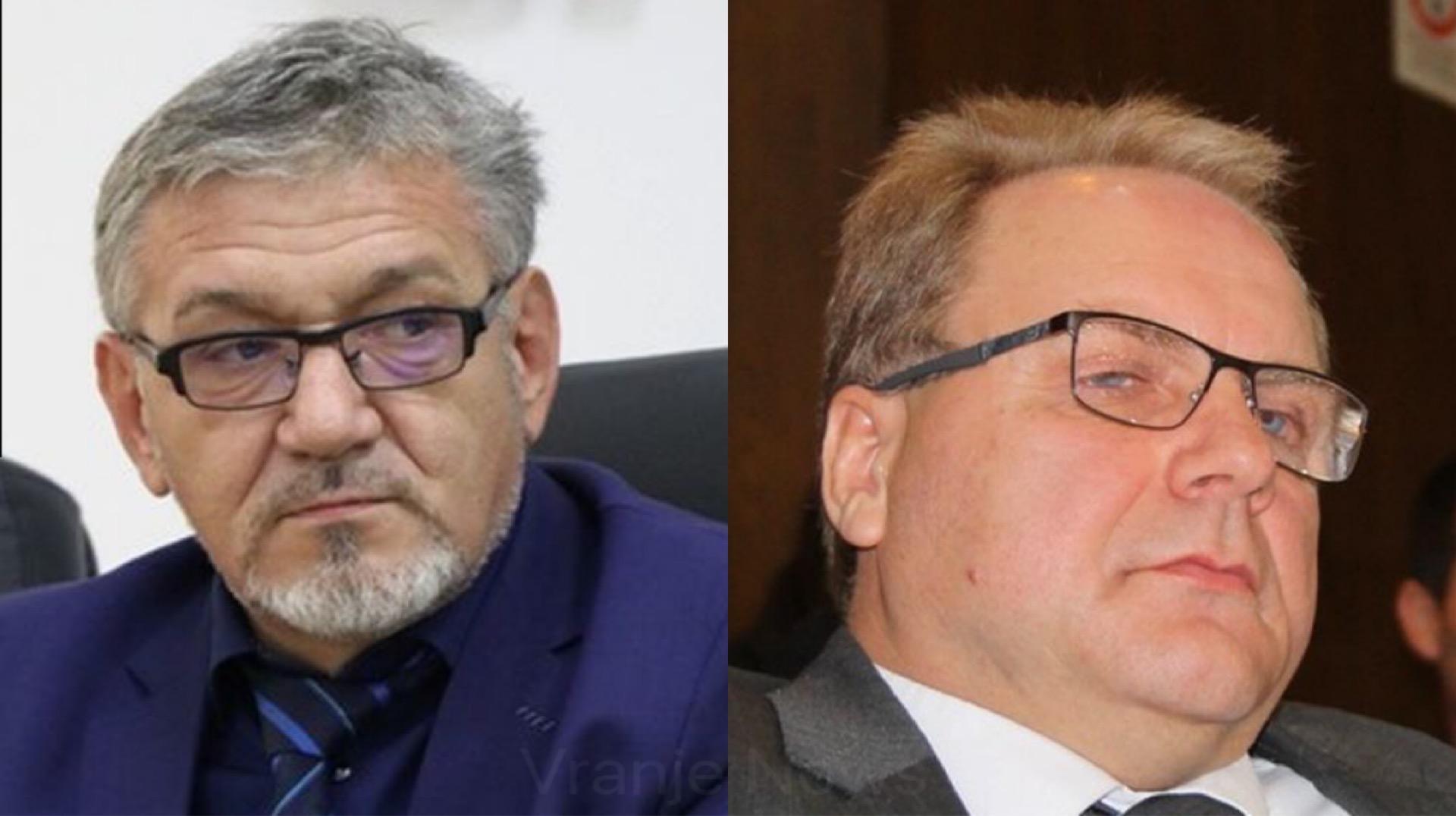 Đorđević (levo) i Petrović. Foto Vranje News