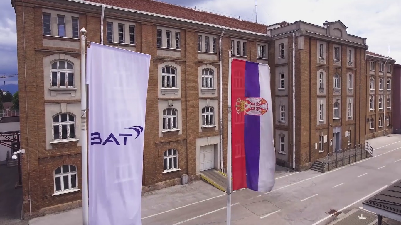 Fabrika BAT-a u Vranju. Foto BAT