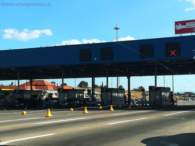 Granični prelaz Preševo ka Makedoniji. Foto Vranje News