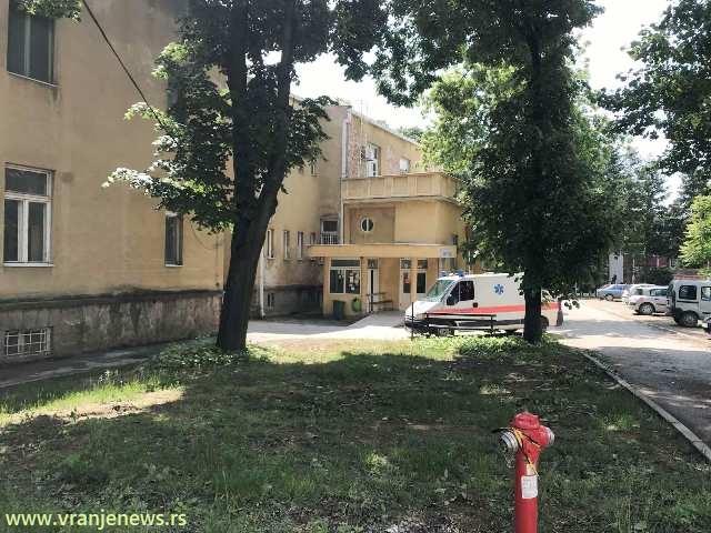Stara Hirurgija, danas COVID bolnica. Foto Vranje News