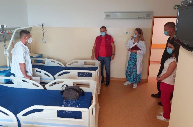 Kreveti su već u funkciji. Foto ZC Vranje