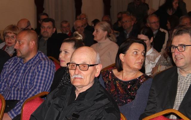 Čuvar vranjskog muzičkog blaga Branko Mitrović u publici. Foto VranjeNews
