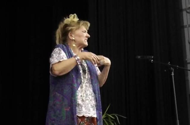 Ljiljana Stjepanović u komadu Gospođa ministarka. Foto Youtube printscreen